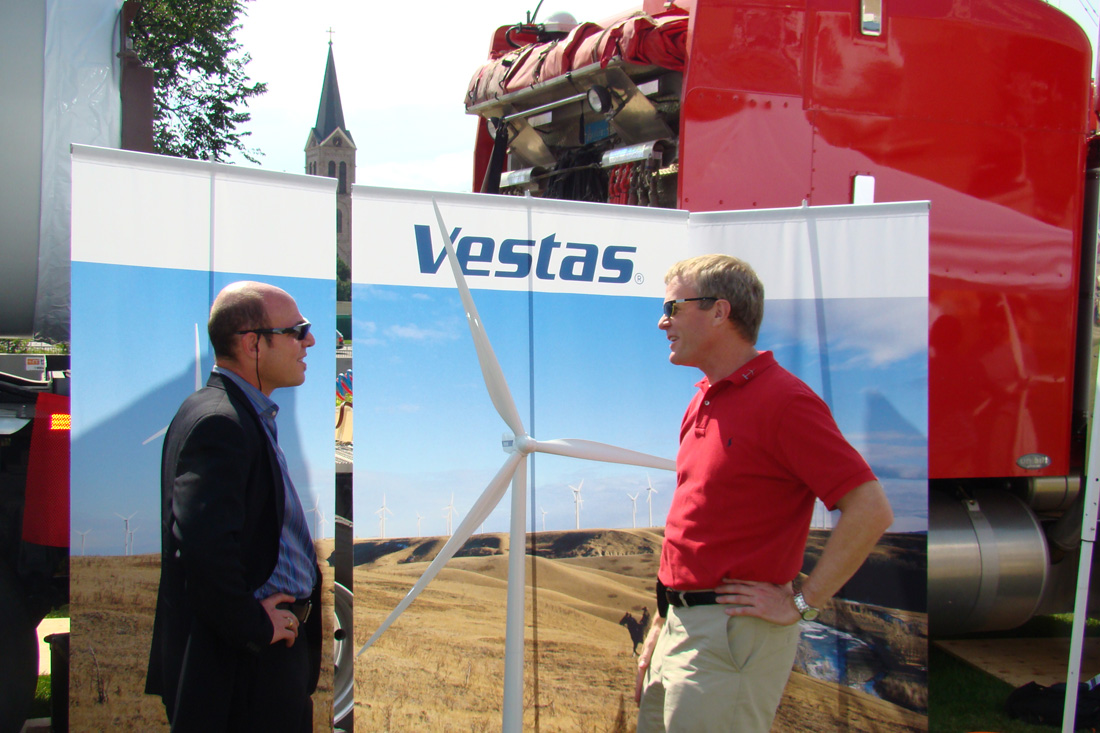 mason hayutin robert vestas denver discuss wind alternatives